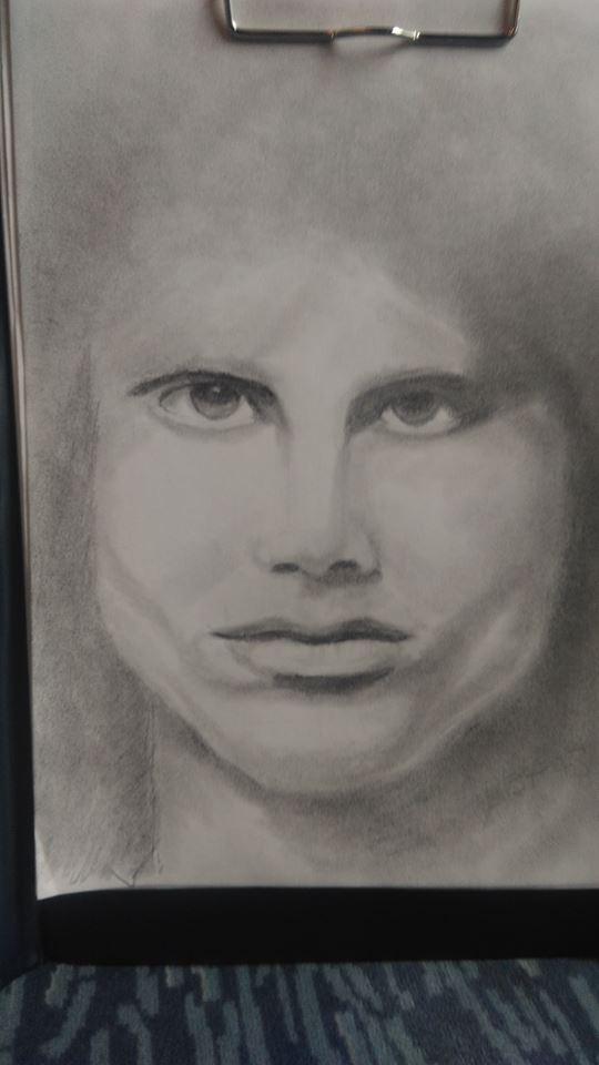 Jim Morrison by LULLI78